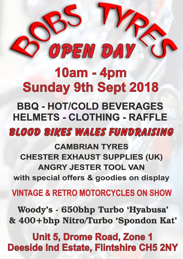 Bobs Tyres, Open Day September 2018