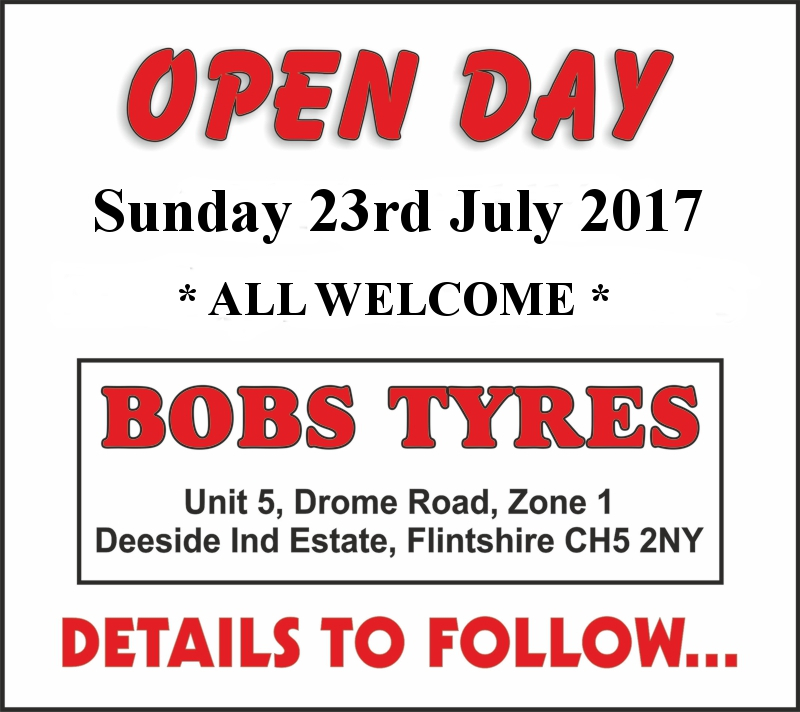 Bobs Bike Tyres, Open Day July 2017