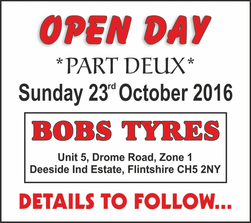 Bobs Bike Tyres, Open Day Part 2