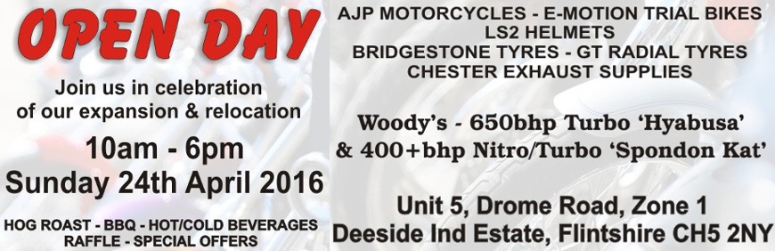 Bobs Bike Tyres Open Day April 2016