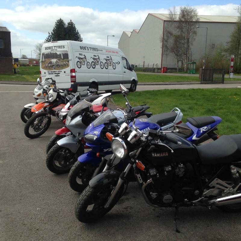 Bob S Bike Tyres About Us Motorcycle Tyre Fitter Deeside Flintshire